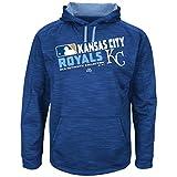 Majestic MLB-Authentic-On Field-Team Choice -Streak Therma Base Fleece Hoodie Sweatshirt-Kansas City Royals-XL