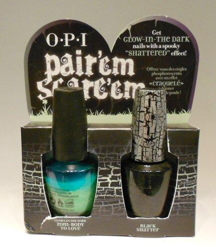 OPI Halloween Pair'em Scare'em Nail Polish Set
