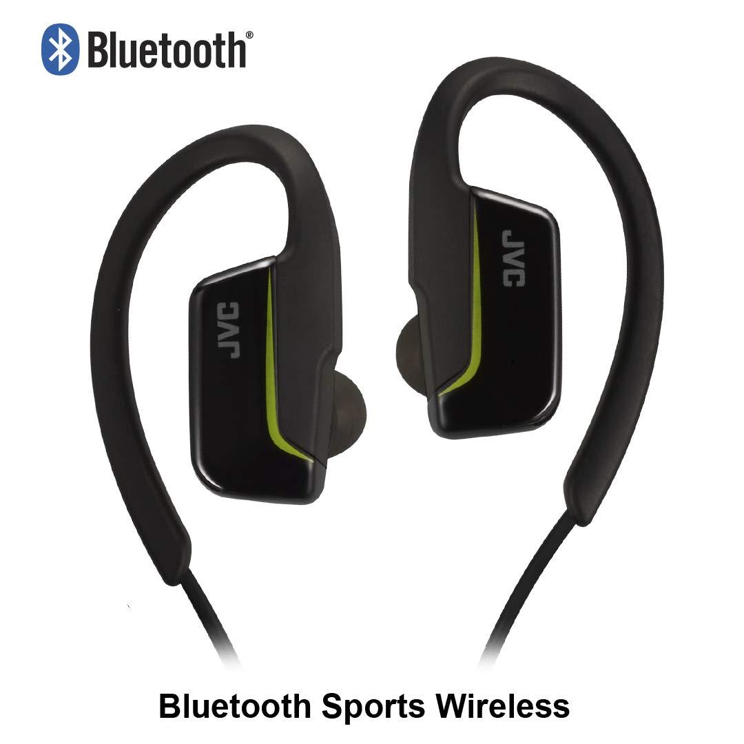 JVC HA-EC30BT - Auriculares (Inalámbrico, Dentro de oído, Binaural, Intraaural, 20-20000 Hz, Negro): JVC: Amazon.es: Electrónica