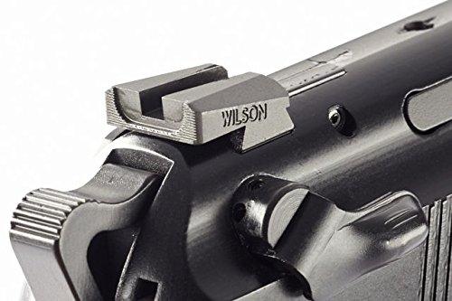 Beretta Rear Sight - Wilson Combat Battlesight, Square Notch, Serrated Blade, .270in, Beretta 92FS, 96FS, Black, 630SQ