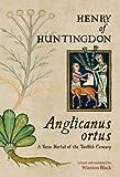 Anglicanus Ortus, Henry of Huntingdon, 0888441800