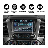 2015-2018 Chevrolet Suburban MyLink 8-Inch Touch Screen Car Display Navigation Screen Protector, RUIYA HD Clear TEMPERED GLASS Car In-Dash Screen Protective Film