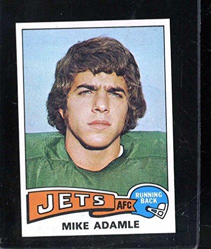 1975 Topps  307 Mike Adamle Nmmt Nicely Centered  215035