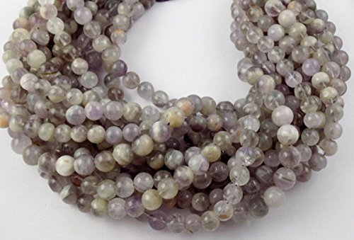 5 Strands Natural Amethyst 8-10mm Smooth Rondelle Drilled Gemstone Bead 13