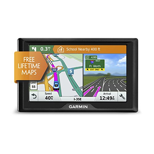 Garmin Drive 51 Usa Lm Gps Navigator System With Lifetime Maps  Spoken Turn By Turn Directions  Direct Access  Driver Alerts  Tripadvisor And Foursquare Data