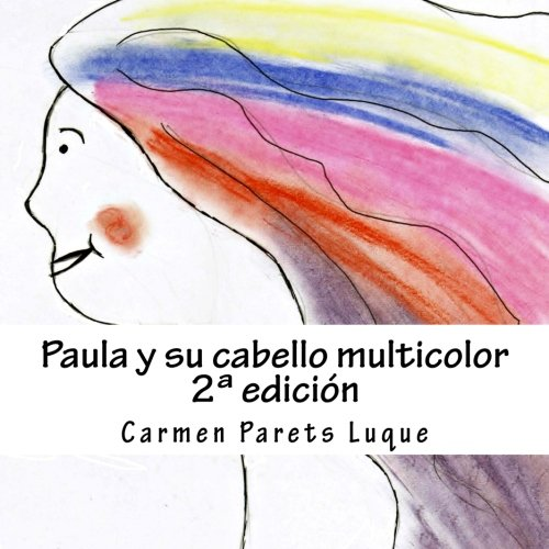 Resultado de imagen de paula y su cabello multicolor