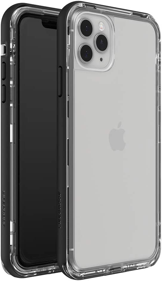 LifeProof Next Series Case for iPhone 11 Pro Max - Black Crystal (Clear/Black)