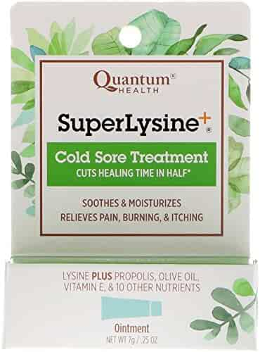 Quantum Health Super Lysine Cold Sore Treatment 0.25 oz 7 g