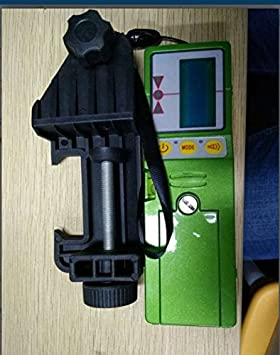 Receptor de Detector de Nivel con Abrazadera Apta para L/íneas Rojas//Verdes FD-9 para L/ínea Roja
