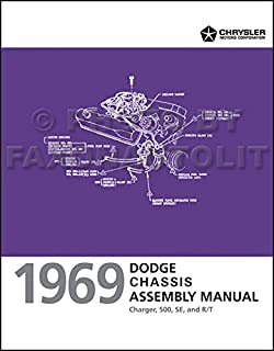 1969 dodge charger coronet dart factory service manual chrysler rh amazon com 1969 dodge charger repair manual pdf 1969 dodge charger repair manual pdf