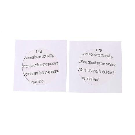 ruiruiNIE 2pcs Impermeable Nylon Transparente Etiqueta ...