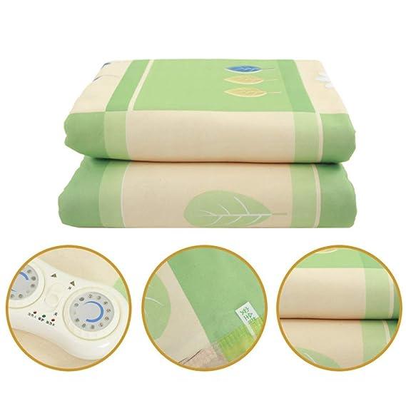 Manta eléctrica, termostato tipo control doble, manta eléctrica sin radiadores,180cmx150cm: Amazon.es: Salud y cuidado personal