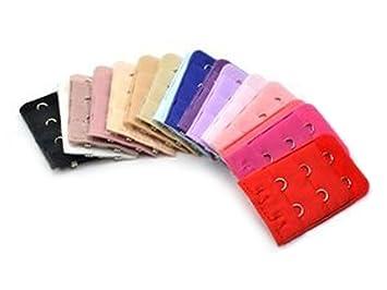 6ffeea038666 17 PCS 3er 3 Zeilen Frauen Lady Abstand BH Verlängerung Gurt Band sortiert  Farben