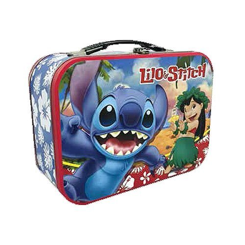 Westland Giftware Lilo and Stitch Lunch Box Tin Tote