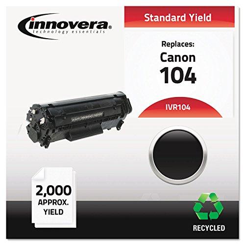 Innovera IVR104 Laser Cartridge - 104 Compatible, Remanufactured, 0263B001AA (104) Toner, 2000 Yield, Black ()
