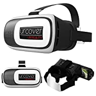 URCOVER® 3D Lunettes UNIVERSEL pour Apple / Android   Lenses Réalité Virtuelle   Casque 3D VR BOX Glasses Stéréoscopiques   Telephone Portable jusqu'à 5 Pouces   Virtual Reality Samsung