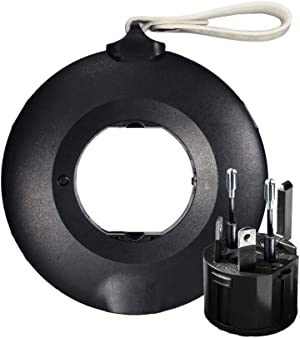 MOGICS Donut Power Strip-Black | Working from Home Essential