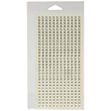 SRM Stickers 48086 Calendar Numbers, Small