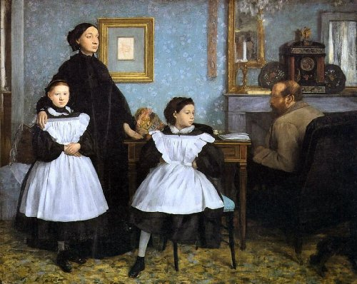 Edgar Degas The Bellelli Family - 20.05
