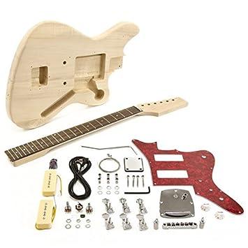 Kit de Bricolaje de Guitarra Eléctrica Seattle Jazz: Amazon.es: Instrumentos musicales