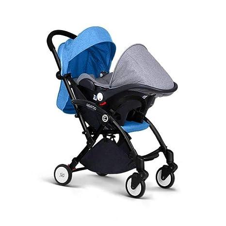 Cochecito de bebé 3 en 1,Cochecito de bebé compacto plegable Ligero Silla de paseo