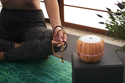 ArtNaturals Aromatherapy Essential Oil Diffuser – (5.0 Fl Oz / 150ml Tank) – Ultrasonic Aroma Humidifier - Adjustable Mist Mode, Auto Shut-Off and 7 Color LED Lights – For Home, Office & Bedroom by ArtNaturals (Image #2)
