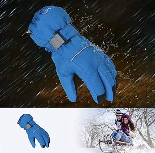 Gants Hiver Chaud Yefun Gants de Ski pour Les activit/és de Plein Air Cyclisme Randonn/ée P/édestre Ski Gants de Sport de Ski en Plein Air Imperm/éables au Vent et /à la Neige Imperm/éables au Vent