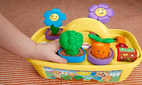 51B nte5C%2BL - Fisher-Price Laugh & Learn Smart Stages Grow 'n Learn Garden Caddy (Amazon Exclusive)