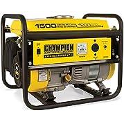 New - Power Equipment, 1200/1500 Watt Portable Gas-Powered Generator CARB