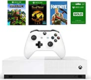 Xbox One S 1TB All-Digital Edition Bundle, Xbox One S 1TB Disc-free Console, Wireless Controller, Download Cod
