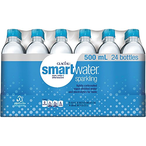 Glaceau Sparkling Smartwater 16.9 oz., 24 pk. (pack of 6) A1 by Glaceau Sparkling