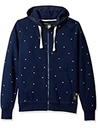 G-Star Raw Men's Manes Raglan Hooded Zip Long Sleeve...