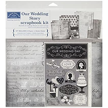 Amazon Karen Foster Design Themed Paper And Stickers Scrapbook