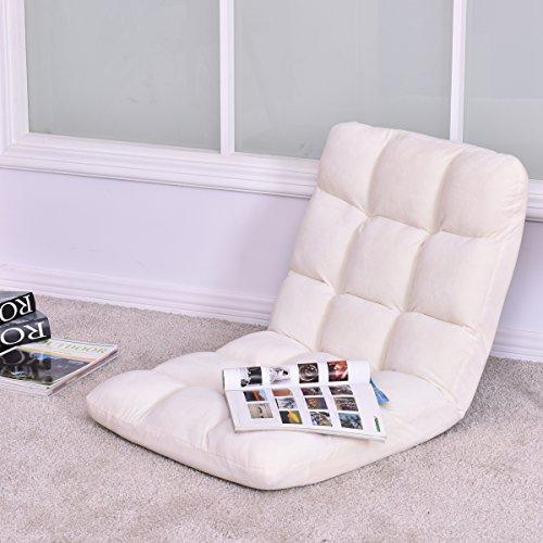 Giantex Adjustable 5 Position Floor Gaming Sofa Chair