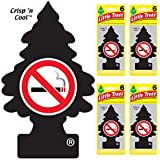 Little Trees auto air freshener, No Smoking, 6-Packs (4 Count)