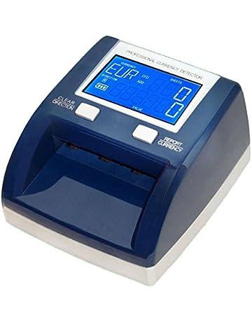 Yatek Detector Billetes Falsos con batería EUR,GBP, SEK, testado por el BCE