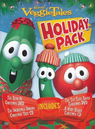 VeggieTales Holiday Pack: The Star of Christmas, the Toy That Saved Christmas, a Very Veggie Christmas, the Incredible Signing Christmas Tree