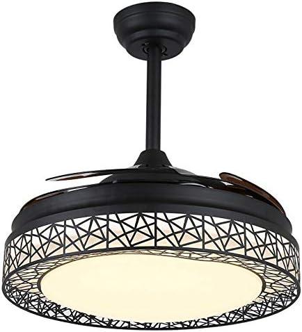 Ventilatore da soffitto con luce a LED e telecomando 42