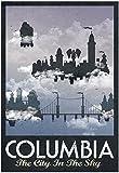 Columbia Retro Travel Poster 13 x 19in