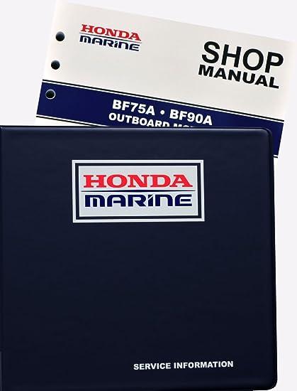 2003 honda bf90a outboard wiring wire center amazon com honda bf75 bf90 a model marine outboard service repair rh amazon com honda bf50a swarovskicordoba Gallery