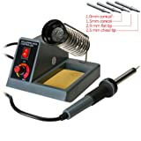 Stanz Variable Temperature Soldering Station, Soldering Iron, Soldering Gun with Extra Tips