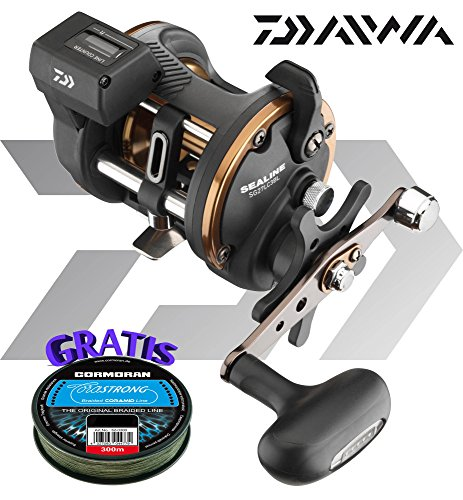Daiwa Sealine SG 27LC3BL - Multiplier reel left hand with...
