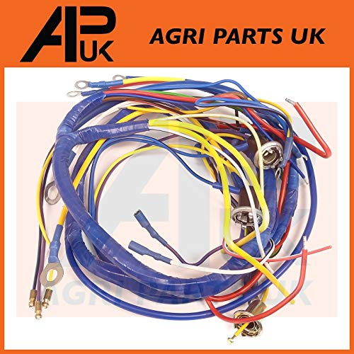 APUK Wire Wiring Harness Loom compatible with Fordson Dexta Tractor: