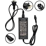 Toys : Wyness Battery Charger 100-240V 50/60Hz Power Supply for Electric Scooter 8mm plug 42V 2A