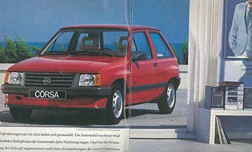 Amazon.com: 1984 Opel Corsa Corsa TR German Brochure Komplett Luxus Berlina SR: Entertainment Collectibles