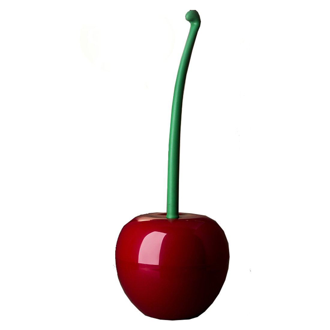 Cherry soporte para cepillo inodoro cepillo escobilla de baño con soporte para escobilla de baño de plástico Luwu-Store 7002679
