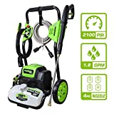 Best Electric Pressure Washers - PowRyte Elite 2100 PSI 1.80 GPM Electric Pressure Review
