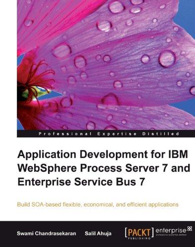 Application Development for IBM WebSphere Process Server 7 and Enterprise Service Bus 7