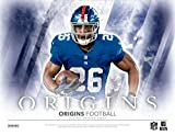 2018 Panini Origins Football Hobby Box (1 Pack with 2 Autographs, 1 Jersey)
