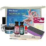Mia Secret Acrylic Nail Kit: 1/2 oz liquid monomer, 1/2